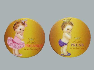 Çocuk Prenses Pembe Sticker
