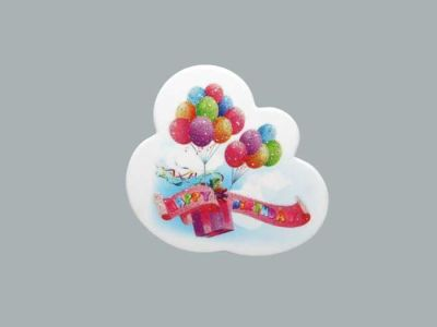 Happy Birthday Balonlu Sticker
