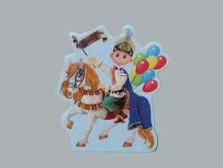 - Sünnet Çocuğu Atlı Balonlu Sticker