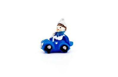 Sünnet Çocuğu Arabalı Minik Mavi