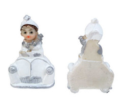 - Sünnet Çocuğu Beyaz Arabalı Magnet