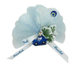 - Sünnet Şekeri Süslü Sünnet Çocuğu Mavi Arabalı