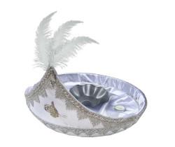 - Sünnet Tepsisi Büyük Süslü Gümüş