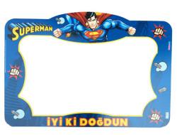 - Superman Çerçeve Çift Taraflı