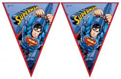 - Superman Üçgen Bayrak Set