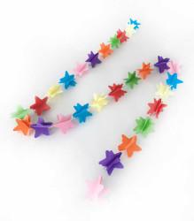 - Asmalı Yıldız Modeli 1.6mt Karışık Renk Süs