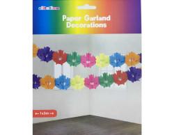 - Çiçek Modeli Karışık Renk 3mt Süs