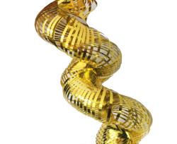 - Fransen Metalize Uzarlı 2mt Altın Süs