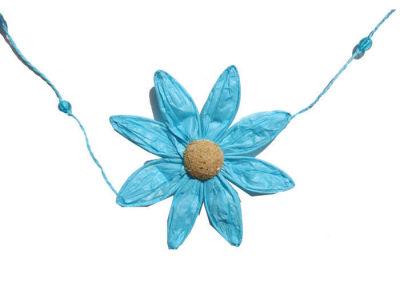 Papatya Çiçeği 5 Li Mavi