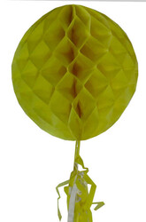- Süs Petek Modeli Püsküllü 25x85 Cm Sarı Pk:1-120