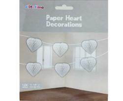 - Ponpon Kalpli 12 Li Set 4mt Beyaz