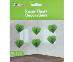 - Ponpon Kalpli 12 Li Set 4mt Yeşil