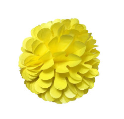 Petekli 3lü Set Sarı Ponpon - Thumbnail