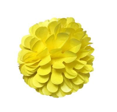 Petekli 3lü Set Sarı Ponpon