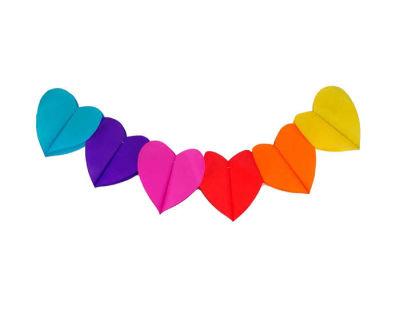 Kalpli Arka Fon Süsü Set Karışık Renk