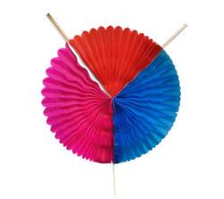 - Yelpaze Çubuklu Ayarlanabilir Asma Süs 3 Renk