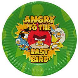 - Angry Birds 2 Tabak (23 cm) 8'li Paket