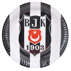 - Beşiktaş Tabak (23 cm) 8'li Paket