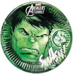 - Hulk Tabak (23 cm) 8'li Paket