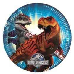 - Jurassic World Tabak (23 cm) 8'li Paket