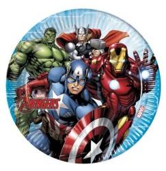 - Mighty Avengers Tabak (23 cm) 8'li Paket