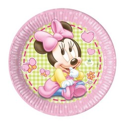 - Minnie Disney Baby Tabak (23cm) 8'li Paket