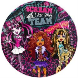 - Monster High Klasik Tabak (23 cm) 8'li Paket