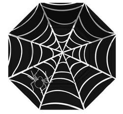- Tabak Örümcek Sekizgen Siyah Pk:8 Kl:48