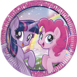 - Pony And Friends Tabak (23 cm) 8'li Paket