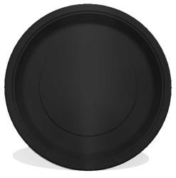 - Siyah Tabak 23 cm