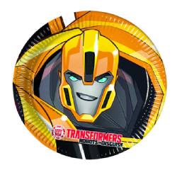 - Transformers Tabak (23 cm) 8'li Paket