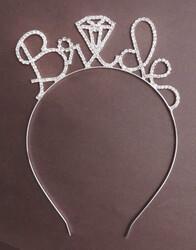 - Taç Brıde To Be Metal Taşlı Gümüş Pk:1 Kl:50