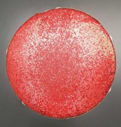 - Tef Işıklı Pilli Pullu Taşlı 40cm Kırmızı