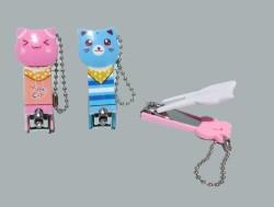 - Tırnak Makası Kedi Figürlü Mavi