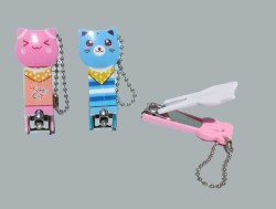 - Tırnak Makası Kedi Figürlü Pembe0