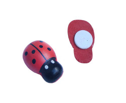 Uğur Böceği Kırmızı 100 lü paket Küçük - Thumbnail