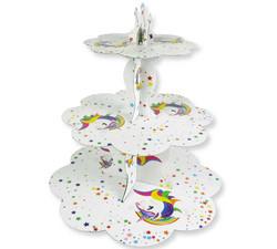 - Unicorn Cupcake Standı