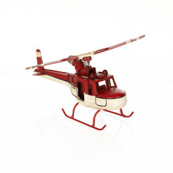 Vintage Metal Helikopter - Thumbnail
