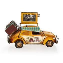 Volkswagen Beetle Classic Çerçeveli Tenteli Kumbara - Thumbnail