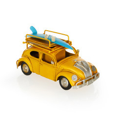 Volkwagen Beetle Classic Kalemlik ve Çerçeveli Metal Araba - Thumbnail