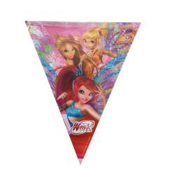 - Winx Butterflix Üçgen Bayrak Set
