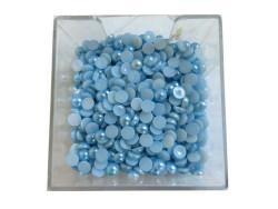 - Yarım İnci Yuvarlak Mavi 12mm