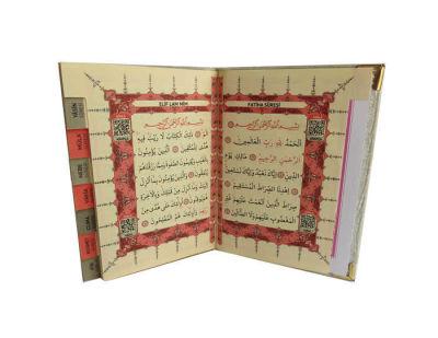 Yasin Kitap Orta Boy Hediyesi Fuşya 10x14cm
