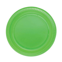 - Yeşil Plastik Tabak (22cm) 25'li Paket