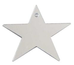 - Yıldız Metalize Süsleme Gümüş Pk:50 Gr Kl:100