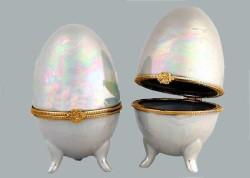 - Yumurta Seramik Sedefli